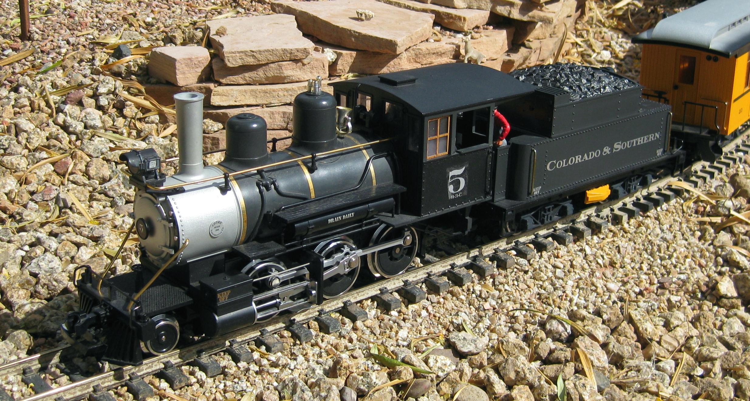 mallet | Steam Locomotive Scale  |Lgb Engine Cow